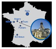 Localisation de Fontevraud